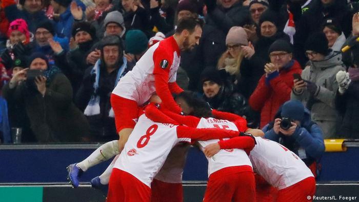 Fußball Europa League RB Leipzig - FC Red Bull Salzburg