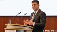 29.11.2018*** 3. Deutsch-Ukrainischen Business Forum in Berlin Volodymyr Groysman, ukrainischen Ministerpräsident