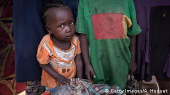 Πρόσφυγας λόγω ξηρασίας από την Κεντροαφρικανική Δημοκρατία