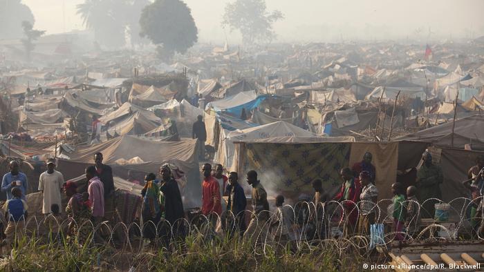 Zentralafrikanische Republik Flüchtlingslager