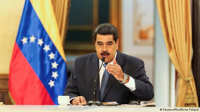 Nicolas Maduro (Reuters/Miraflores Palace)