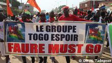 Togo Demonstrationen