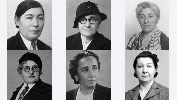 Türkiye'de kadınlar 5 Aralık 1934 tarihinde milletvekili seçme ve seçilme hakkını elde etti ve ilk kez 1935 seçimleriyle TBMM'ye 17 kadın girdi. 1936 yılında boşalan milletvekillikleri için yapılan ara seçimde ise bu sayı 18'e çıktı. Fotoğrafta ilk kadın milletvekilllerinden Ferruh Güpgüp, Hatice Özgener, Şekibe İnsel, Nakiye Elgün, Sabiha Gökçül, Mihri Pektaş görülüyor.