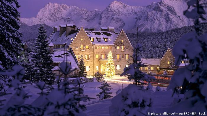 Замок-готель Kranzbach у Баварії
