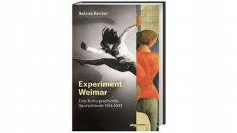 Buchcover Experiment Weimar von Autorin Sabine Becker