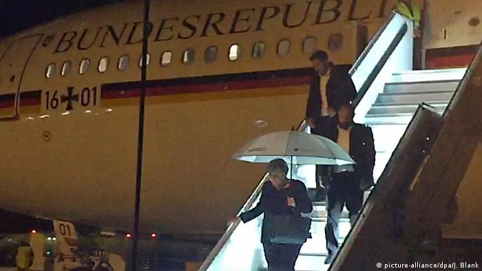 Deutschland Merkel muss Flug zum G20 Gipfel abbrechen