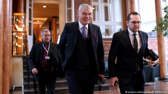 Deutschland Innenministerkonferenz in Magdeburg | Holger Stahlknecht CDU, Sachsen-Anhalt (picture-alliance/dpa/R. Hartmann)