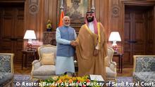 G20-Gipfel in Buenos Aires | Narendra Modi, Indien & Mohammed bin Salman, Saudi-Arabien