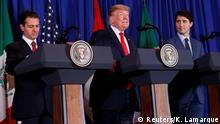 G20-Gipfel in Buenos Aires | USMCA-Abkommen | Pena Nieto & Trump & Trudeau