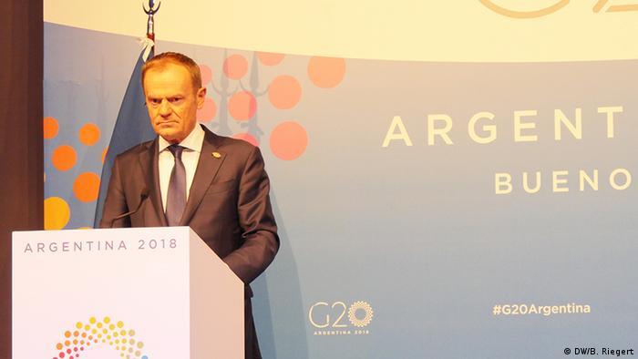 G20 Gipfel Buenos Aires Argentinien (DW/B. Riegert)
