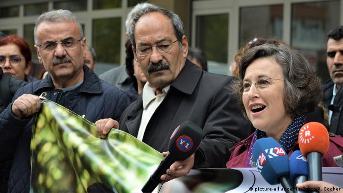 Türkei HDP-Partei Filiz Kerestecioglu | Solidarität mit inhaftiertem Selahattin Demirtas in Ankara
