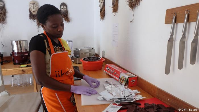 Demokratische Republik Kongo Cocoa Congo in Goma | Mamy Simire (DW/J. Raupp)