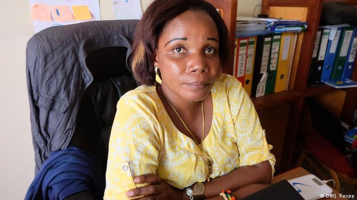 Demokratische Republik Kongo Cocoa Congo in Goma | Silvie Chishungu Zawadi (DW/J. Raupp)