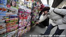Ungarn Zeitungen - Pressefreiheit - Kiosk