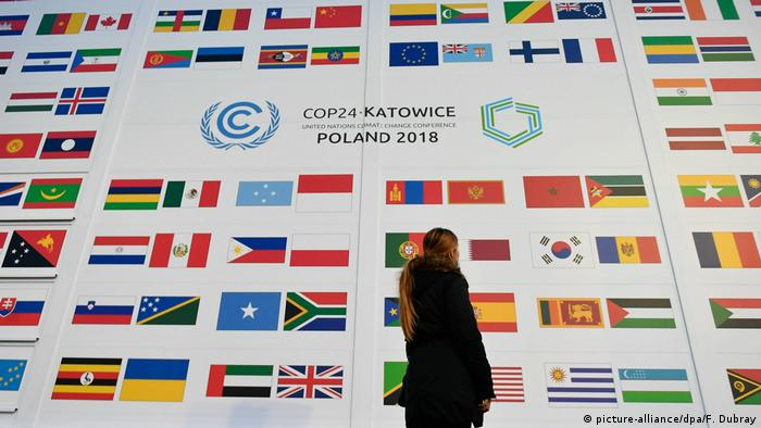 Polen - 24. Weltklimakonferenz in Katowice - COP24 (picture-alliance/dpa/F. Dubray)