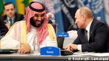Argentinien G20 Gipfel - Putin und bin Salman