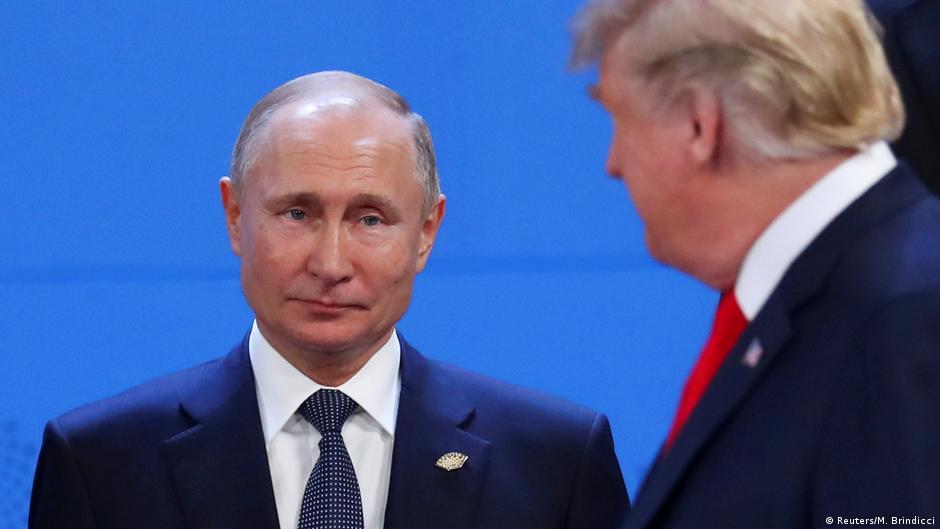 Argentinien G20 Gipfel - Putin und Trump