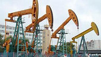 Daqing oil field, one of the biggest in China