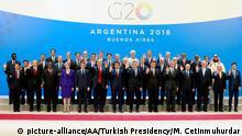 Argentinien G20 Gipfel - Gruppenfoto