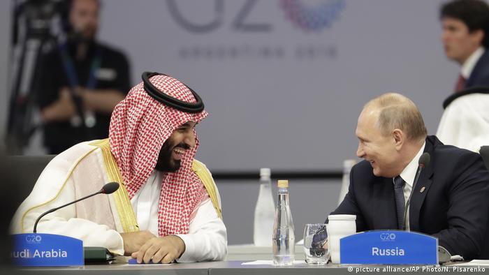Argentinien G20 Gipfel - Putin und bin Salman (picture alliance/AP Photo/N. Pisarenko)