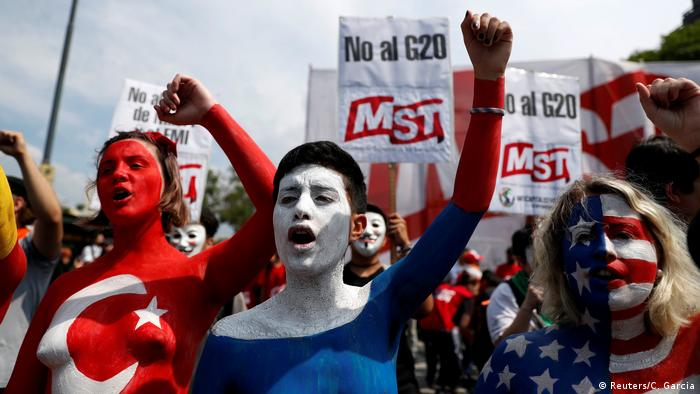 Argentinien G20 Gipfel 2018 - Gegenproteste in Buenos Aires