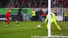 Fussball Bundesliga l Fortuna Düsseldorf vs Mainz 05 - Tor 0:1 - Jean-Philippe Mateta