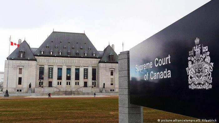 Ottawa Oberster Gerichtshof von Kanada (picture-alliance/empics/S. Kilpatrick )