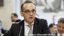 Genf UN Afghanistan Konferenz Außenminister Heiko Maas