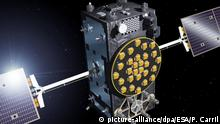 Galileo-Satellitensystem (picture-alliance/dpa/ESA/P. Carril)