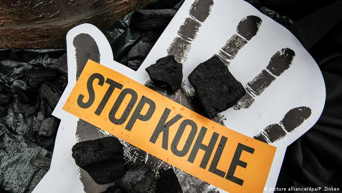 Germany protests call for leadership on climate action