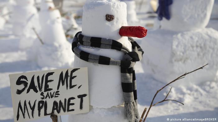 Demonstration Klimaschutz (picture alliance/imageBROKER)