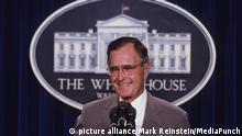 Ex-US-Präsdient George H.W. Bush gestorben