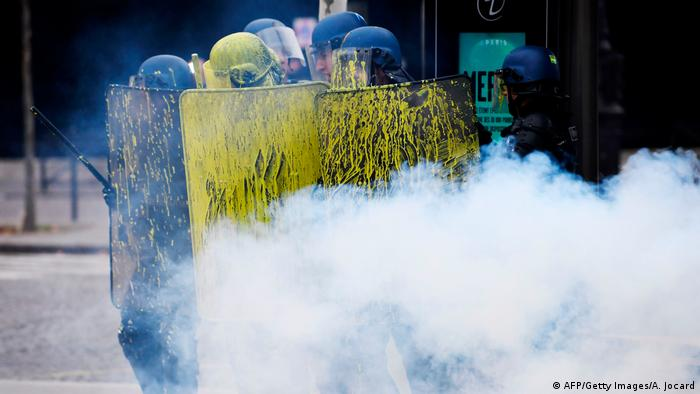 Protestas en París (AFP/Getty Images/A. Jocard)
