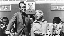 Ex-US-Präsident George H. W. Bush in China 1974