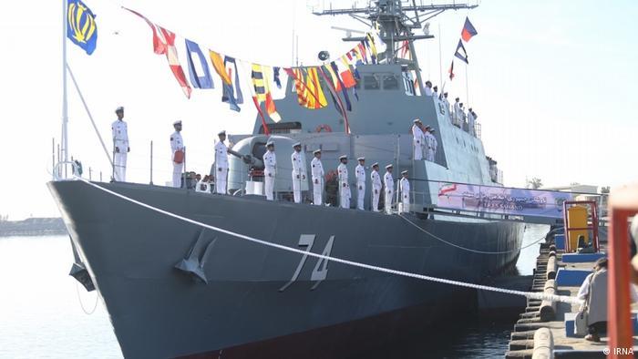 Iranian warship Sahand (IRNA)