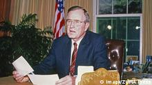 Ex-US-Präsident George H. W. Bush Panama 1989 (imago/ZUMA Press)