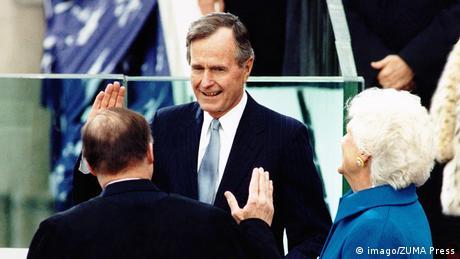 Tζορτζ Μπους, πρόεδρος σε ταραχώδη εποχή