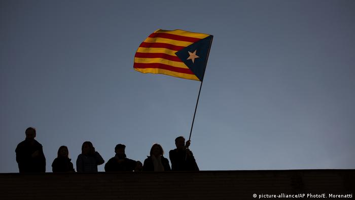 Symbolbild Spanien Katalonien (picture-alliance/AP Photo/E. Morenatti)