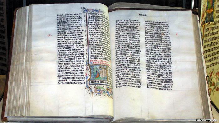 Vulgata - Die Bibel von Malmesbury (Arpingstone)