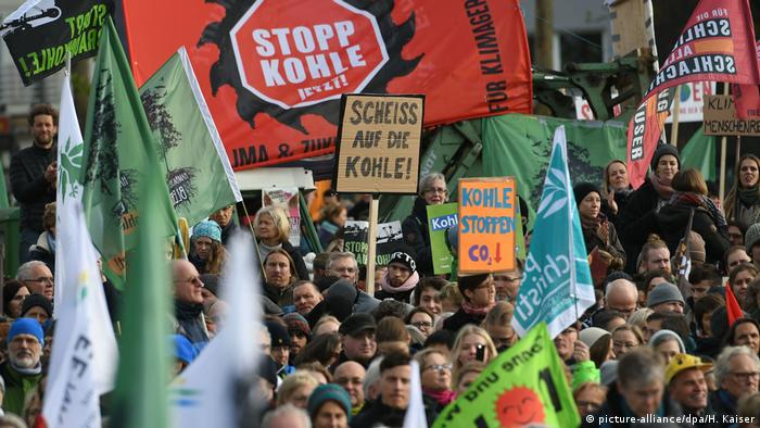Stop coal demonstration in Cologne
