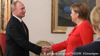 Argentinien G20 Gipfel - Putin und Merkel