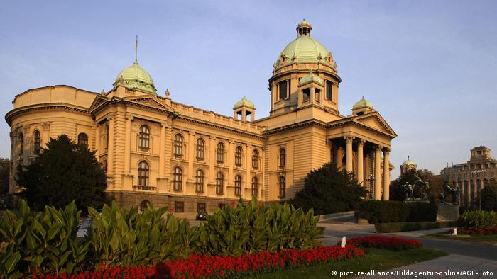 Serbien Parlament in Belgrad
