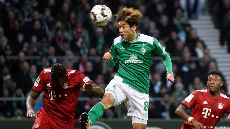 Bundesliga  Gnabry double sees Bayern grind out win in Bremen ... f27f6a6591