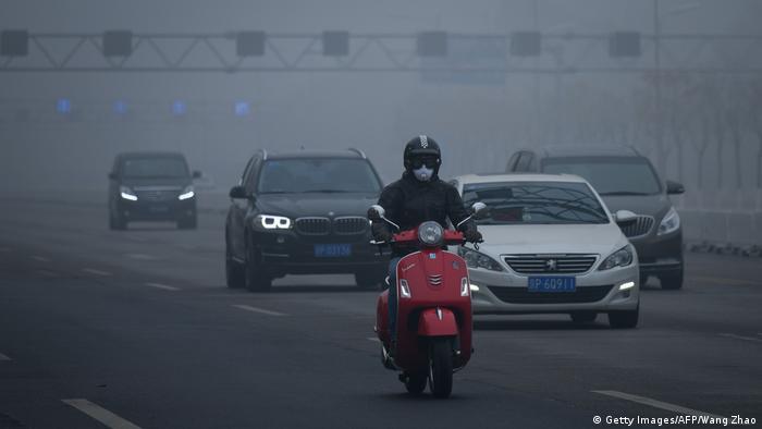 China Luftverschmutzung in Peking (Getty Images/AFP/Wang Zhao)