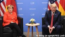 Argentinien G20-Gipfel Angela Merkel und Donald Trump