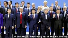 Argentinien G20-Gipfel Familienfoto