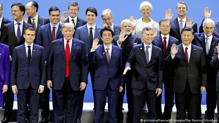 Foto de líderes do G20 em Buenos Aires
