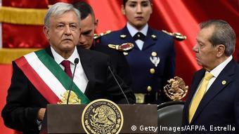 Inauguration of Andres Manuel Lopez Obrador