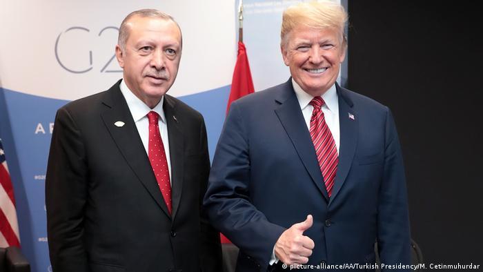 Türkischer Präsident Erdogan und US-Präsident Trump (Foto: picture-alliance)