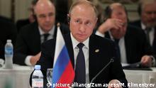 Argentinien G20 Gipfel - Russischer Präsdient Putin - Sitzungssaal